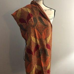 Wrap/scarf beautiful teardrop pattern